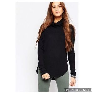 We The Free Kristina Funnel Neck Thermal Black